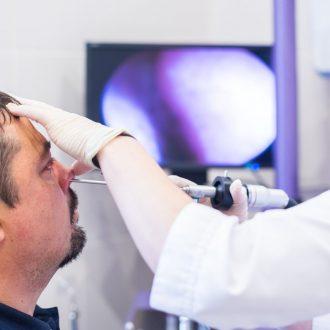 Фиброларингоскопия